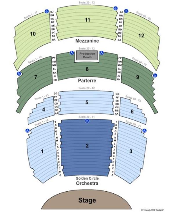 Ventura Theater Seating Chart Brokeasshome Com