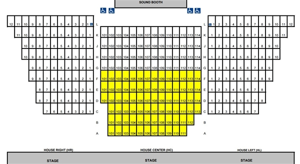 Ventura Theater Seating Chart Brokeasshome Com