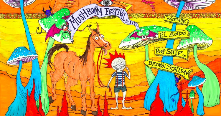 Mushroom Festival in Hell