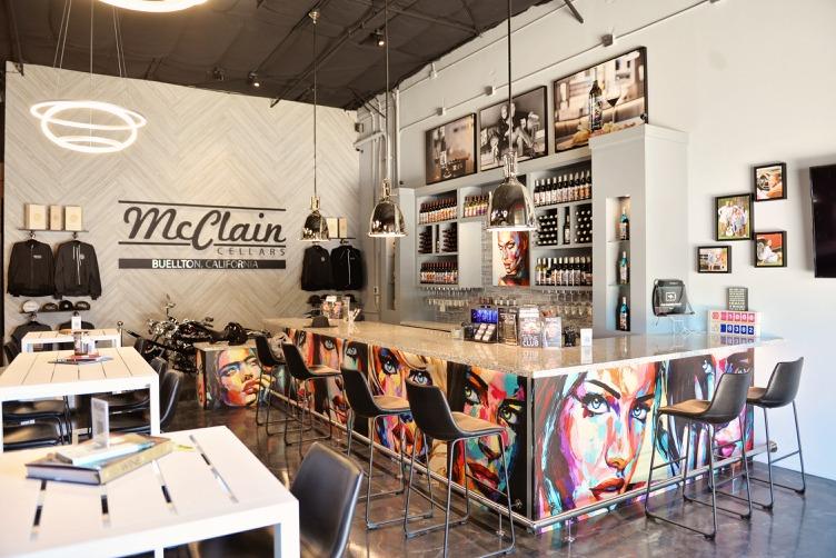 McClain Cellars Wine Tasting Lounge