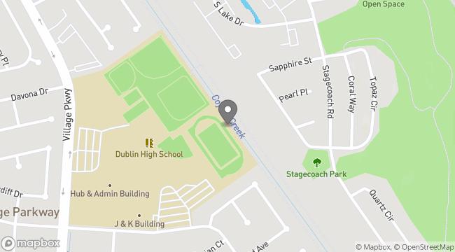 Dublin High School Parking Lot (Village Parkway)
