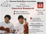 Carnatic Violin Duo by Ganesh & Kumerash