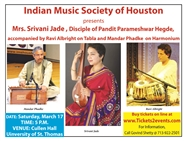 Hindustani Classical music by Mrs. Srivani Jade