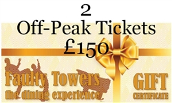 2 x Off-Peak Tickets for Faulty Towers the Dining Experience in London