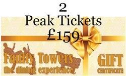 2 x Peak Tickets for Faulty Towers the Dining Experience in London