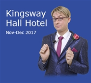 The Wedding Reception in London's Covent Garden, Kingsway Hall Hotel: Nov-Dec 2017