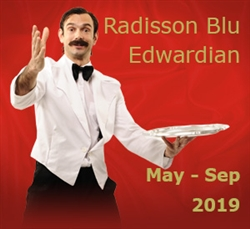 Faulty Towers The Dining Experience in London's West End: May-Sept 2019