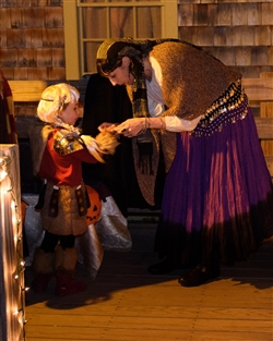 Ghosts on the Banke Family Friendly Halloween Oct 27 & 28