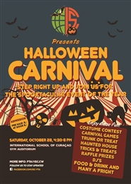 ISC's Halloween Carnival