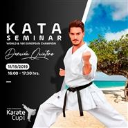 Kata Seminar with Damian Quintero (Spain)
