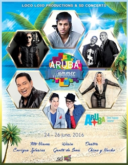 Aruba Summer Music Festival 2016