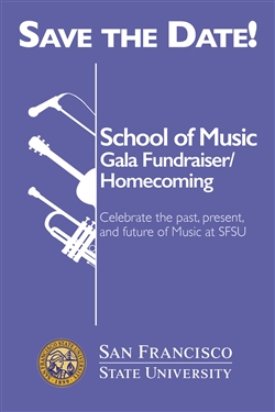 School of Music Gala Fundraiser/Alumni Homecoming