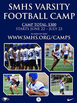 2020 Summer JV/Varsity Football Camp