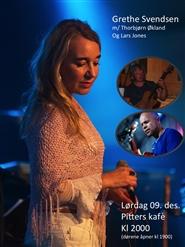 Konsert med Grethe Svensen, Torbjørn Økland og Lars Jones 17