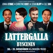 LATTERGALLA - Byscenen Haugesund