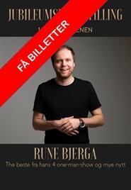 Rune Bjerga - 10 år på scenen