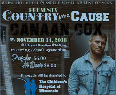 Country for a Cause with Canaan Cox