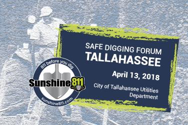 Sunshine 811 Free Safe Digging Forum Tallahassee 4 13