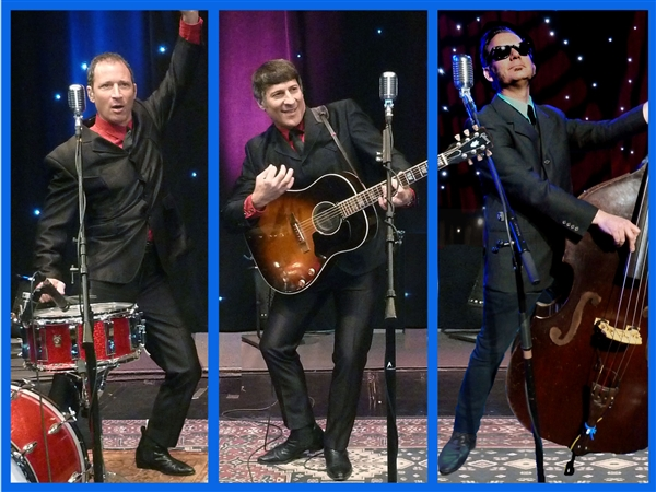 12/31/18 A Rock n' Roll Tribute from Elvis to The Beatles featuring The Neverly Brothers.