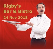 Faulty Towers at Rigby's Bar & Bistro, Perth; 24 Nov '18