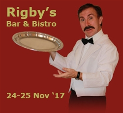 Faulty Towers @ Rigby's Bar & Bistro, Perth; 24-25 Nov '17