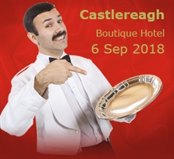 Faulty Towers at Castlereagh Boutique Hotel, Sydney; 6 Sep '18