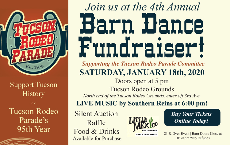 Barn Dance Fundraiser supporting the Tucson Rodeo Parade 2020